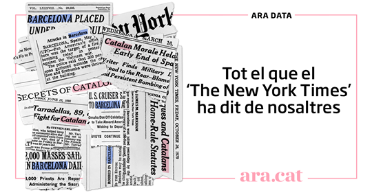 Tot el que el 'The New York Times' ha dit de nosaltres